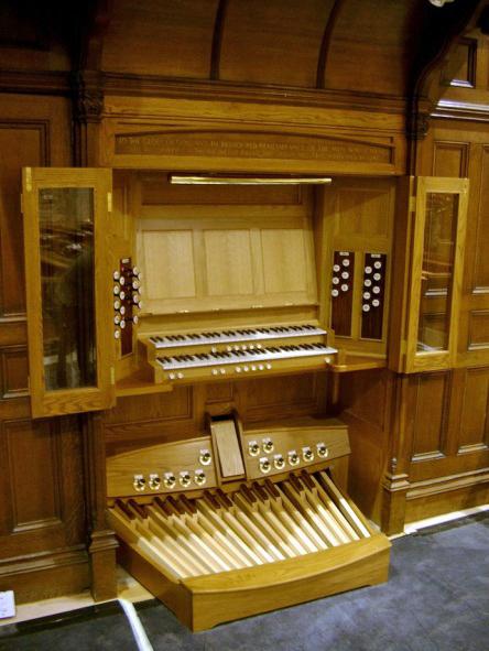 Renatus Ltd - Organ Building Services - Consoles